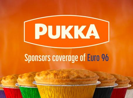 Pukka TV sponsorship for Euro 96 ⚽️