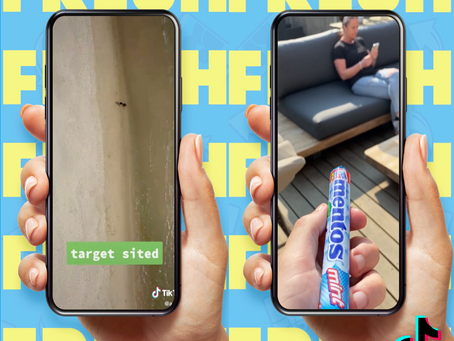 Mentos Yes to Fresh TikTok Campaign Launches