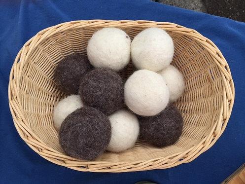 Felted Dryer Balls November 18