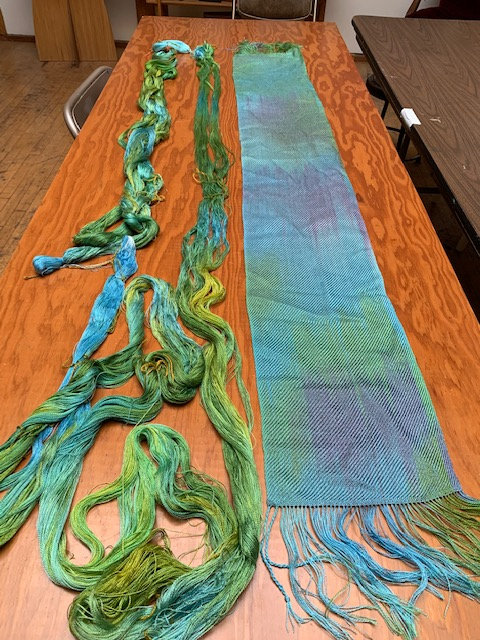 Paint Your Warp & Weft Workshop- Tencel 7/25