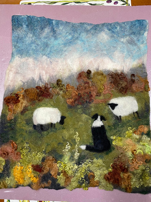 Landscape with Sheep 2D 10/3 &10/4