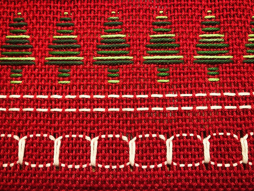 Rigid Heddle Holiday Place Mats