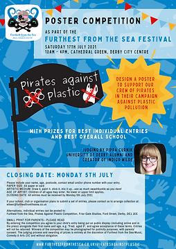 Pirates Against Plastic poster competiti