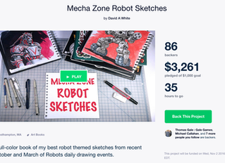 Mecha Zone Sketches Update!