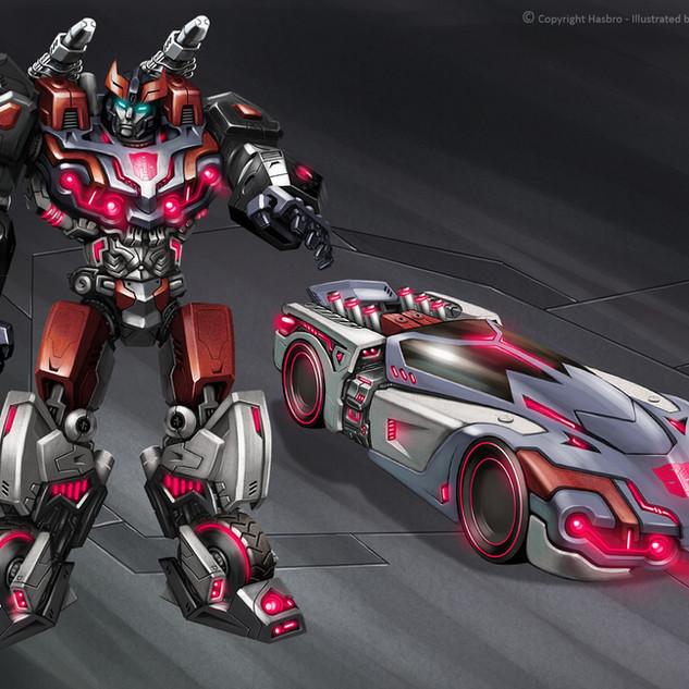 Transformers WFC Bluestreak