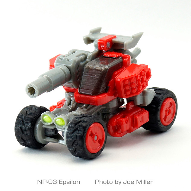 Epsilon Transforming Vehicle