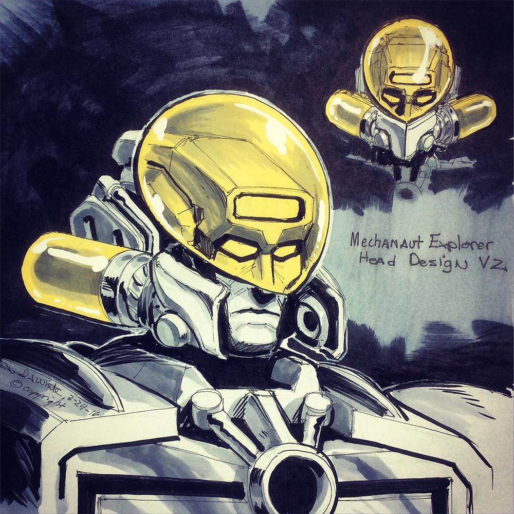 Explorer head concept art