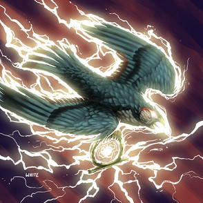 Gaming Card: Lightning Bird