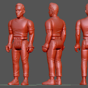 Novelty Action Figure Design