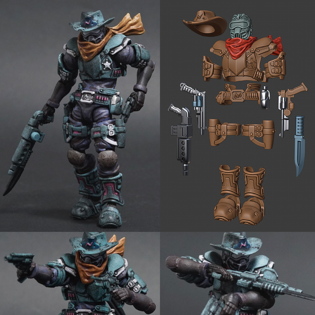 Acid Rain Figure Accessories