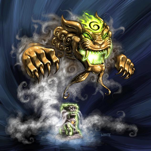Gaming Card: Haunted Totem