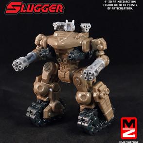 Slugger Action Figure