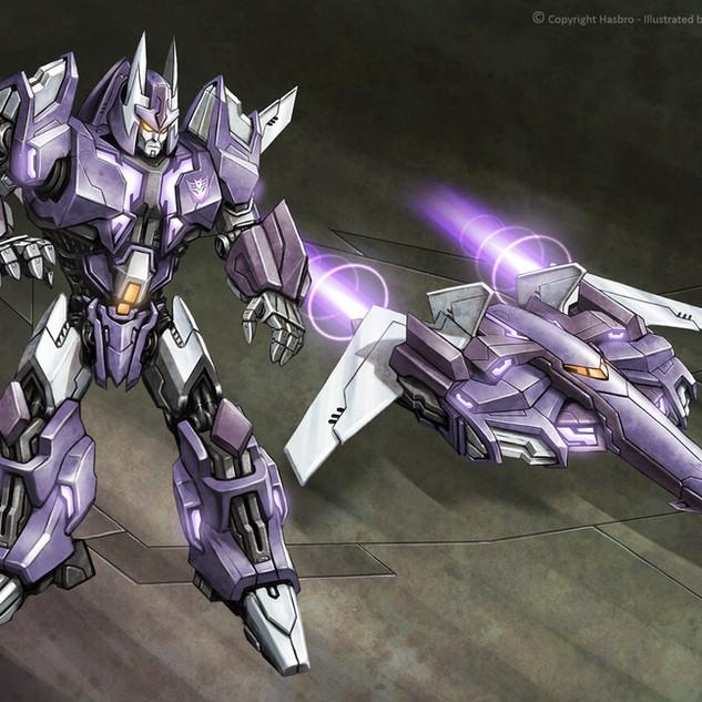 Transformers WFC Cyclonus