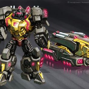 Transformers WFC Grimlock