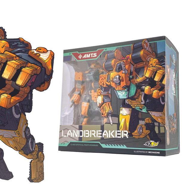 52 Toys LANDBREAKER box art