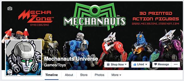 Mechanauts Facebook Page Header