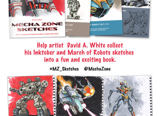 New Mecha Zone book on KICKSTARTER