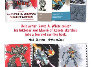 New Mecha Zone book on KICKSTARTER