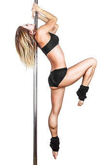 Pole Fitness, Freies Training