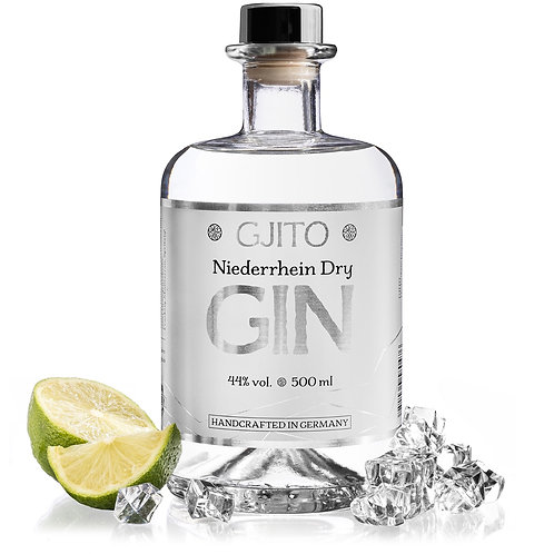 GJITO Niederrhein Dry Gin (0,5l - 44%Vol.)