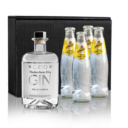 GJITO Dry Gin Geschenkset Schweppes Edition