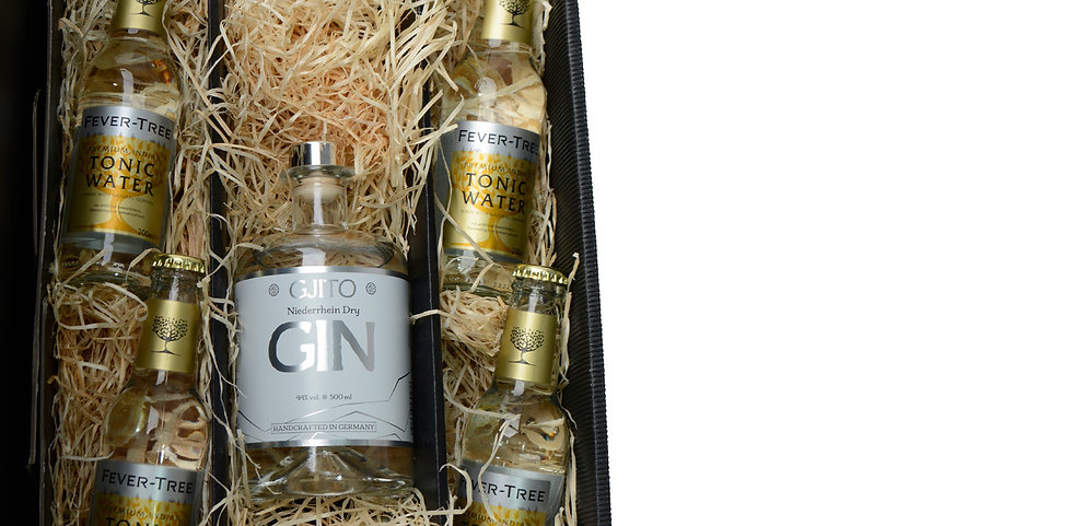 GJITO Dry Gin Geschenkset Fever Tree Edition