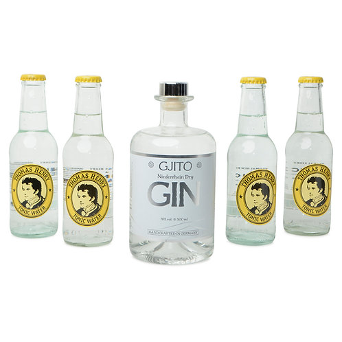 GJITO Dry Gin DRINK SET Thomas Henry Edition