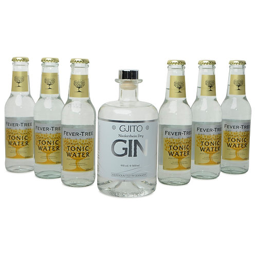 GJITO Dry Gin DRINK SET Fever Tree Edition