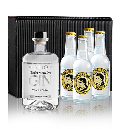 GJITO Dry Gin Geschenkset Thomas Henry Edition