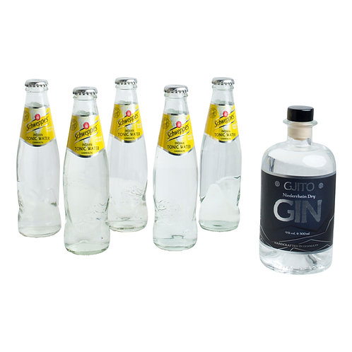 GJITO Dry Gin DRINK SET Schweppes Edition