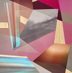 Four Walls III, photocollage, wall art