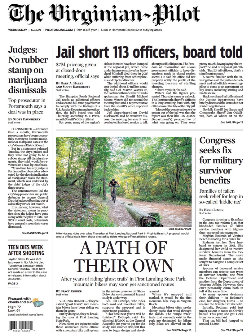 The Virginian-Pilot Front Page