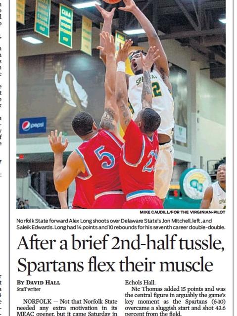 College Basketball Norfolk State vs Dela