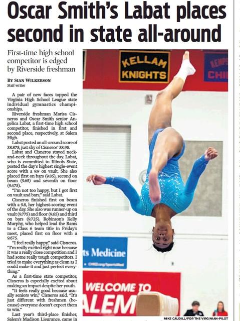 HS Gymnastics for VP