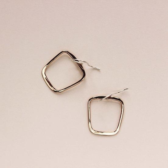 Soft Square Earrings - SKU 216
