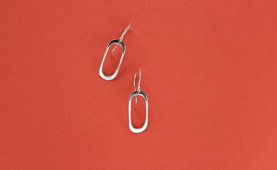 Soft Oval Earrings