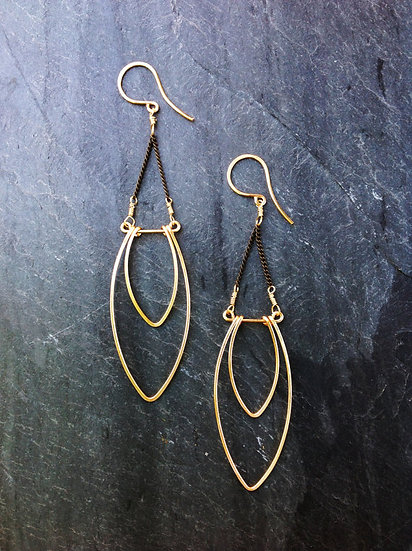 Flame Earrings - SKU 15