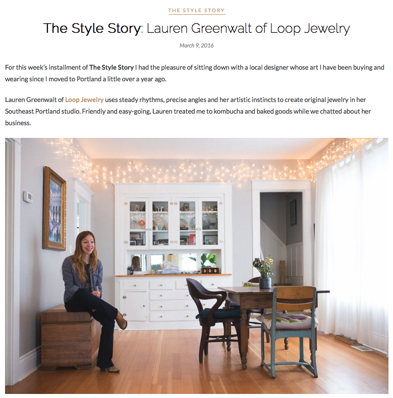 S+S - Style Story: Loop Jewelry