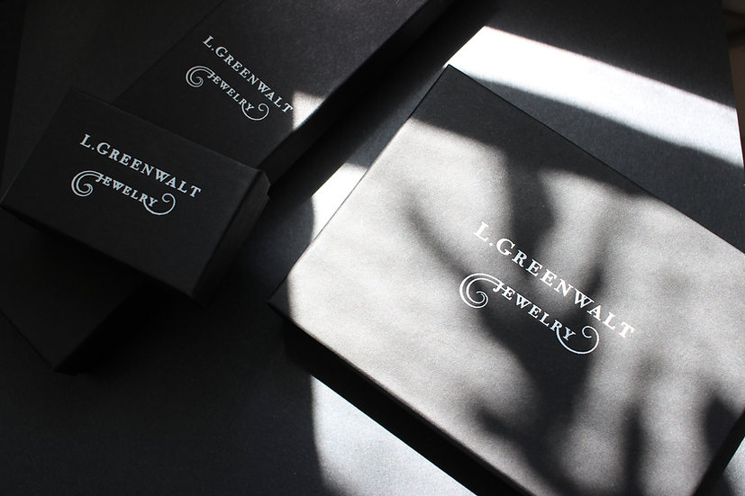 L.Greenwalt Jewelry Branded Boxes