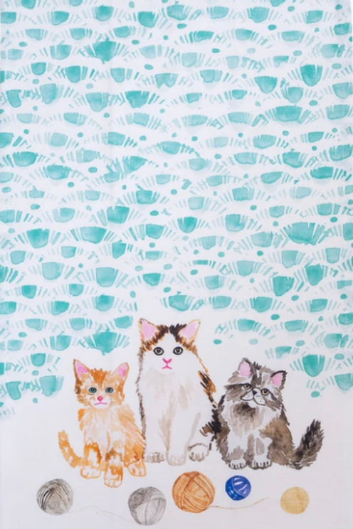 Tea Towel- Kittens