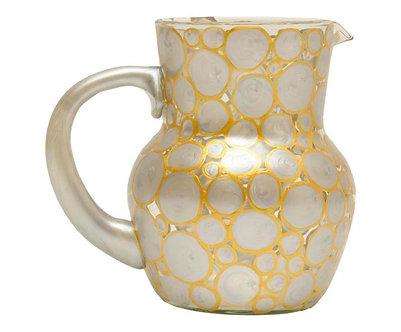 Jarra Pichorra P - Gold & Silver Happy Atacado - Ref.:18022-15A