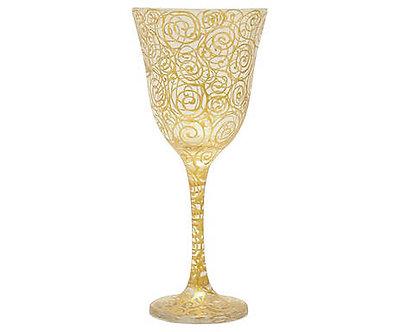 Taça Lírio - Gold & Silver Caracol Atacado - Ref.:41001A