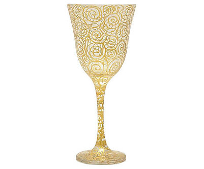 Taça Jasmim - Gold & Silver Caracol - Ref.:41001
