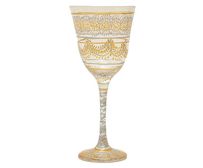 Taça Jasmim - Gold & Silver Indiana Atacado - Ref.:11001-13A