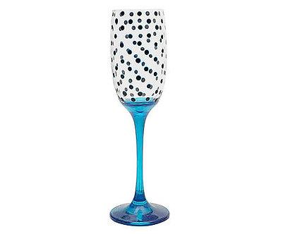 Taça Champagne Barone - Poá Summer Atacado - Ref.:45011A