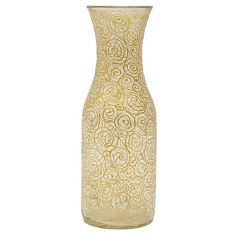 Decanter Caracol - Gold & Silver - Ref.:41033