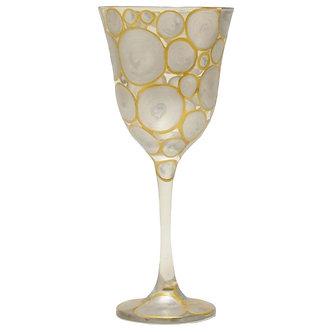 Taça Jasmim - Gold & Silver Happy - Ref.:18001