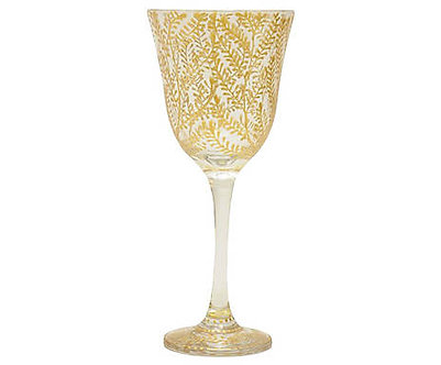 Taça Jasmim - Gold & Silver Ramos - Ref.:13001