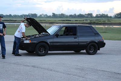 the 1987 Toyota Corolla FX16