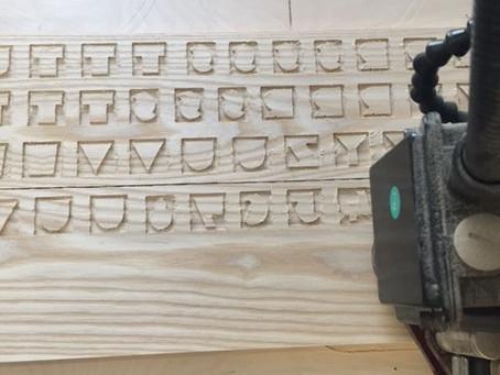Making more wood type
